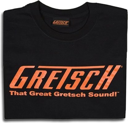 Gretsch That Great Gretsch Sound! T-Shirt Black M