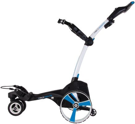 MGI Zip Navigator White Electric Golf Trolley