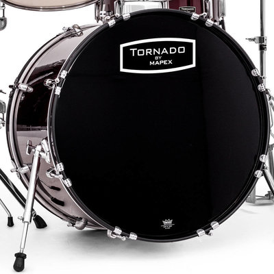 Mapex TND5044TC Tornado Burgundy New Package