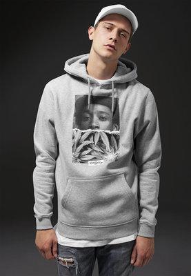 Wiz Khalifa Half Face Hoody Heather Grey XL