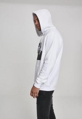 2Pac Faces Hoody White L