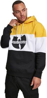 Wu-Tang Clan Block Hoody Black/White/Yellow L