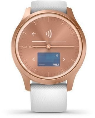 Garmin vívomove Style Rose Gold/White Silicone