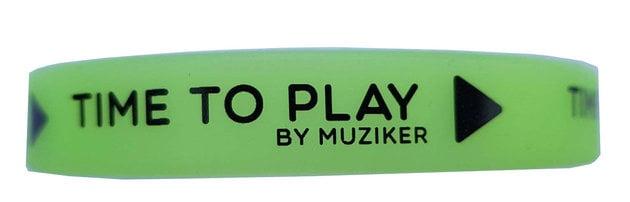 Muziker Svítíci náramek Green