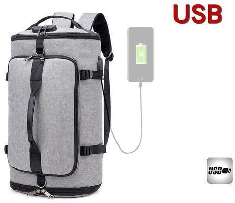 Muziker USB Ruksak Veliki Grey