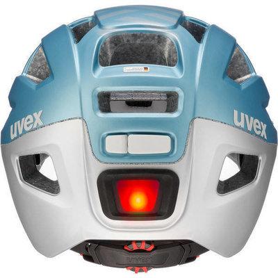 UVEX Finale Visor Strato Cool Blue 56-61 Led SET