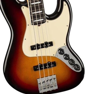 Fender American Ultra Jazz Bass RW Ultraburst