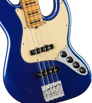 Fender American Ultra Jazz Bass MN Cobra Blue