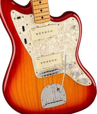 Fender American Ultra Jazzmaster MN Plasma Red Burst