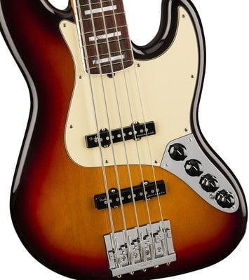 Fender American Ultra Jazz Bass V RW Ultraburst