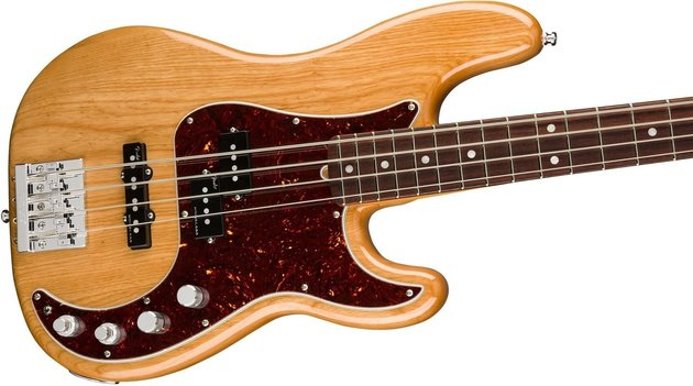 Fender American Ultra Precision Bass MN Aged Natural