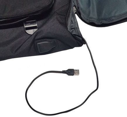 Muziker USB Backpack Big Black