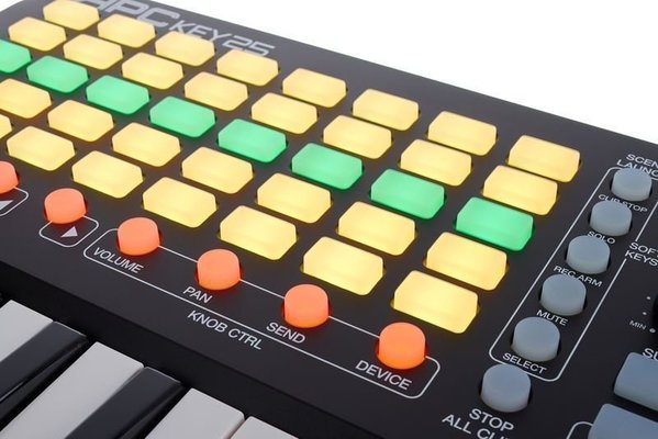 Akai APC KEY 25 Ableton Live Controller with Keyboard
