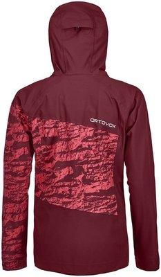 Ortovox 3L Guardian Shell Womens Jacket Dark Blood XS