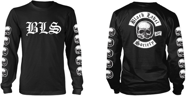 BLACK LABEL SOCIETY T-SHIRT Skull  Motorcycle Motorbike Biker Unisex Tee Top BLS