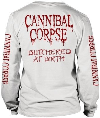 Cannibal Corpse Butchered At Birth Long Sleeve Shirt M