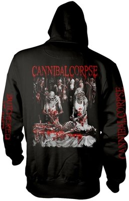 Cannibal Corpse Butchered At Birth Explicit Hooded Sweatshirt XL