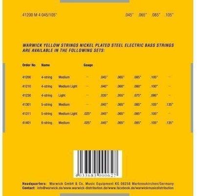 Warwick 41200 M Yellow Label