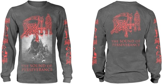 Death The Sound Of Perseverance Black Long Sleeve Shirt S