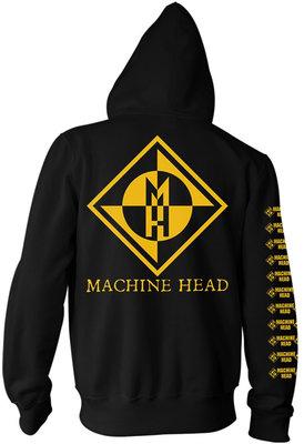 Machine Head Diamond Zenei kapucnis pulóver