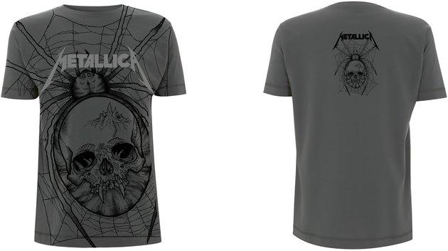 Metallica Spider All Over T-Shirt XXL