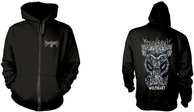Moonspell Wolfheart Zenei kapucnis pulóver