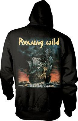 Running Wild Under Jolly Roger Album Hooded Sweatshirt XXL