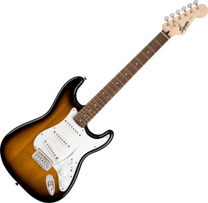 Fender Squier Stratocaster Pack Laurel Brown Sunburst