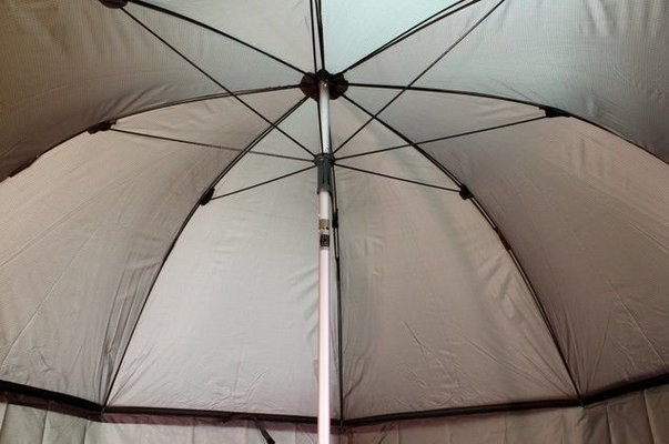 Delphin Umbrella With Extended Side Wall 250cm Green