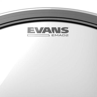 Evans 14'' Hazy 300 Snare Resonant