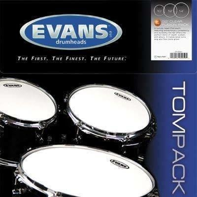 Evans Tom Pack Fusion G1 Clear