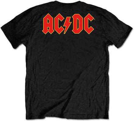AC/DC Unisex Tee Logo Black (Back Print/Retail Pack) XL
