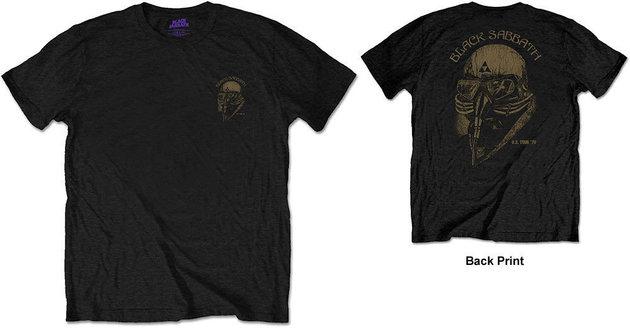 Black Sabbath Unisex Tee US Tour 78 (Back Print/Retail Pack) M