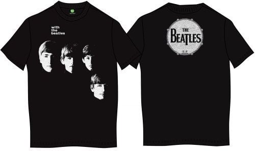The Beatles Unisex Premium Tee With (Back Print) XL