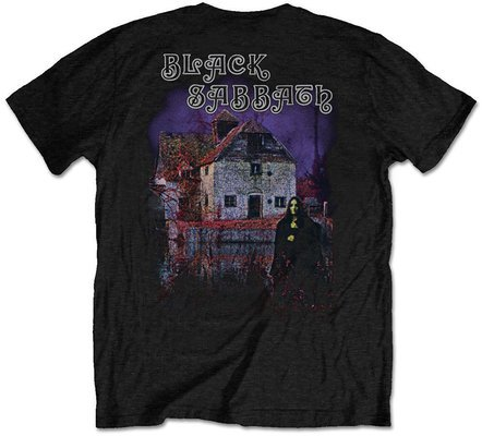 Black Sabbath Unisex Tee Debut Album (Back Print) XXL
