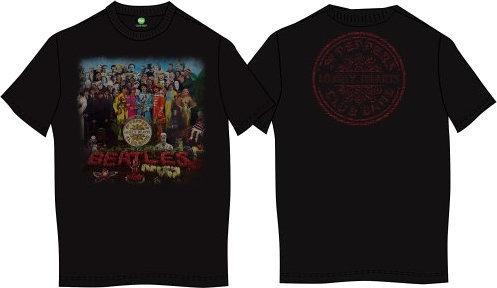 The Beatles Unisex Premium Tee Sgt Pepper (Back Print) XL