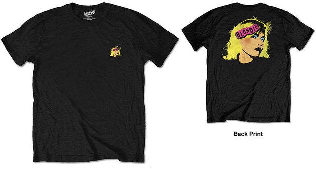 Blondie Unisex Tee Punk Logo (Back Print/Retail Pack) XXL