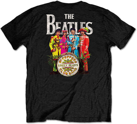The Beatles Unisex Tee Sgt Pepper (Back Print/Retail Pack) XL