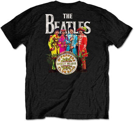 The Beatles Unisex Tee Sgt Pepper (Back Print/Retail Pack) XXL
