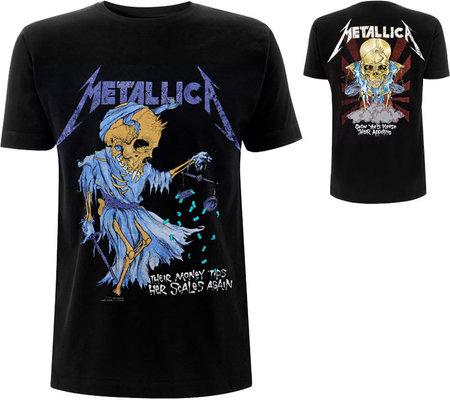 Metallica Unisex Tee: Doris (Back Print) S