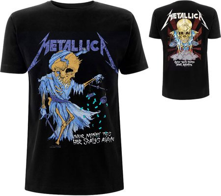 Metallica Unisex Tee: Doris (Back Print) XL