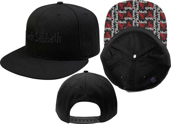 Black Sabbath Unisex Snapback Cap Logo & Demon