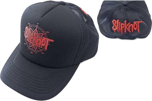 Slipknot Unisex Baseball Cap Logo (Mesh Back)