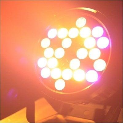 Light4Me Black Par 30X3W RGBa-UV LED