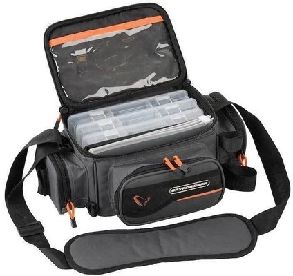 Savage Gear System Box Bag S 3 Boxes & PP Bags
