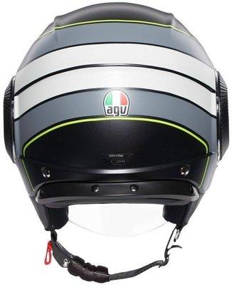 AGV Orbyt Multi Brera Matt-Black/Grey/Yellow Fluo M