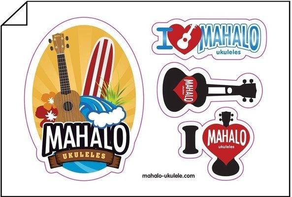 Mahalo MK1 Transparent Brown Essential Pack