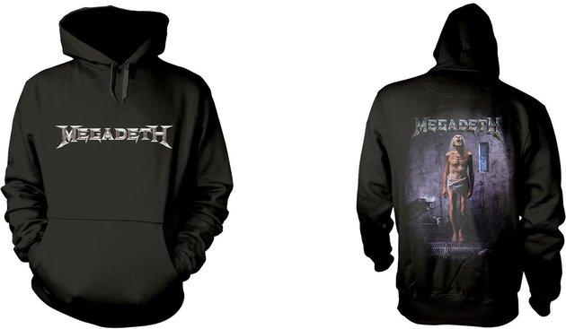 Megadeth Countdown To Extinction Hooded Sweatshirt L