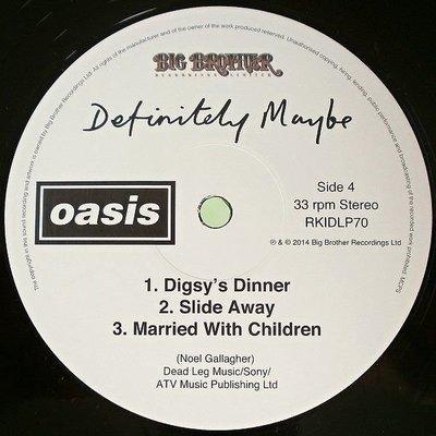 Oasis Definitely Maybe