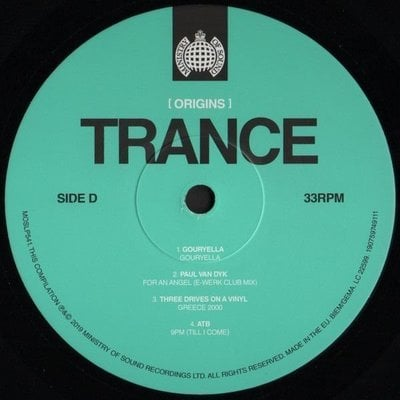 Various Artists (Origins) Trance (2 LP)
